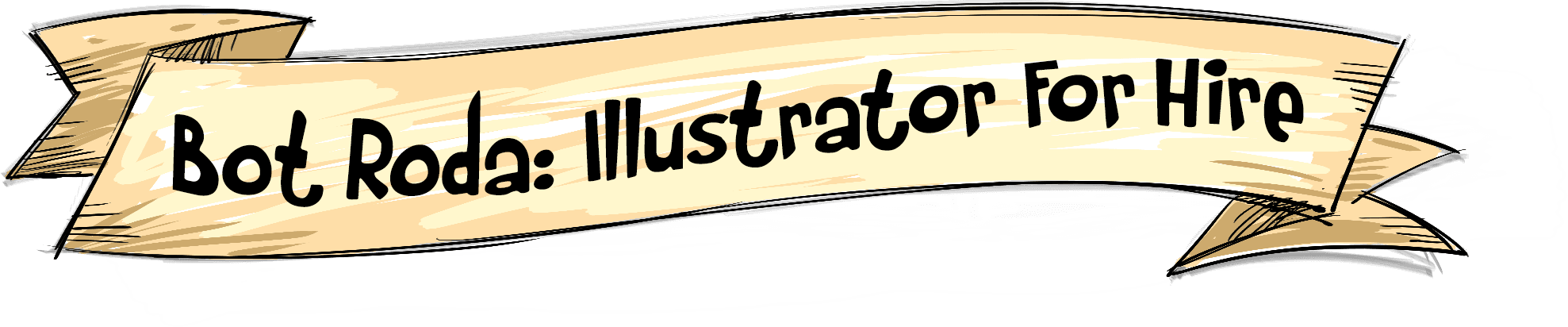 Bot Roda: Illustrator For Hire